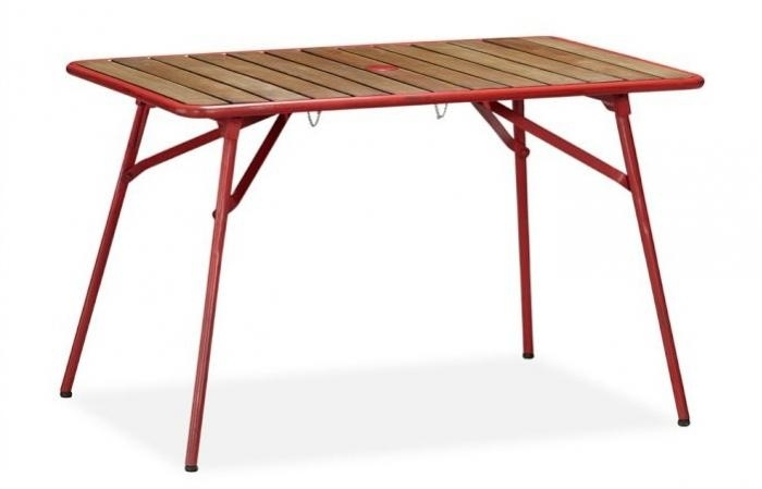 5 Favorites: Folding Outdoor Dining Tables – Gardenista With Regard To Folding Outdoor Dining Tables (Image 5 of 25)