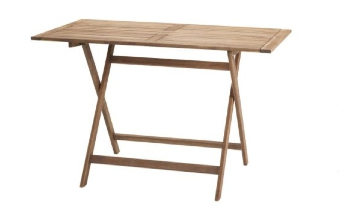 5 Favorites: Folding Outdoor Dining Tables – Gardenista Within Folding Outdoor Dining Tables (Image 6 of 25)