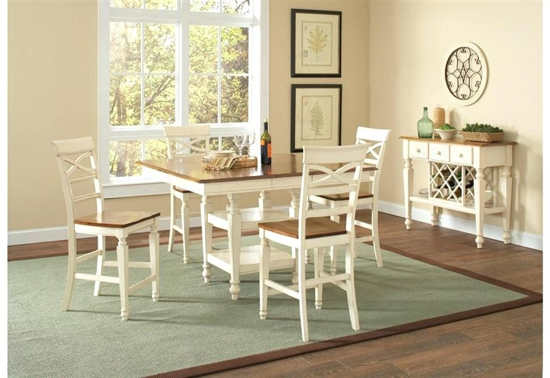 5 Pc Counter Height Dining Set Exquisite Porter 7 Piece Reviews On Throughout Jensen 5 Piece Counter Sets (Image 7 of 25)