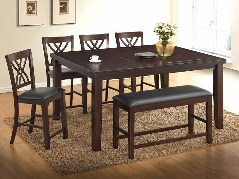 5 Pc Gavin Pub Table Set with Gavin Dining Tables
