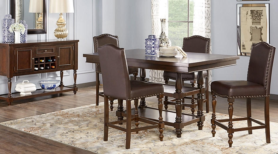 5 Piece Dining Room Set Ashley Furniture Hyland 5 Piece Dining Set Inside Hyland 5 Piece Counter Sets With Bench (Image 1 of 25)
