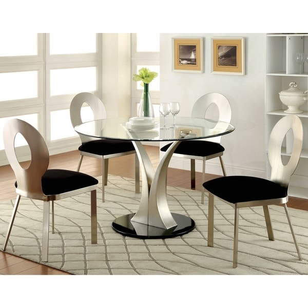 5 Piece Round Dining Set Home Design And Ideas | Groundswellplayers for Macie 5 Piece Round Dining Sets