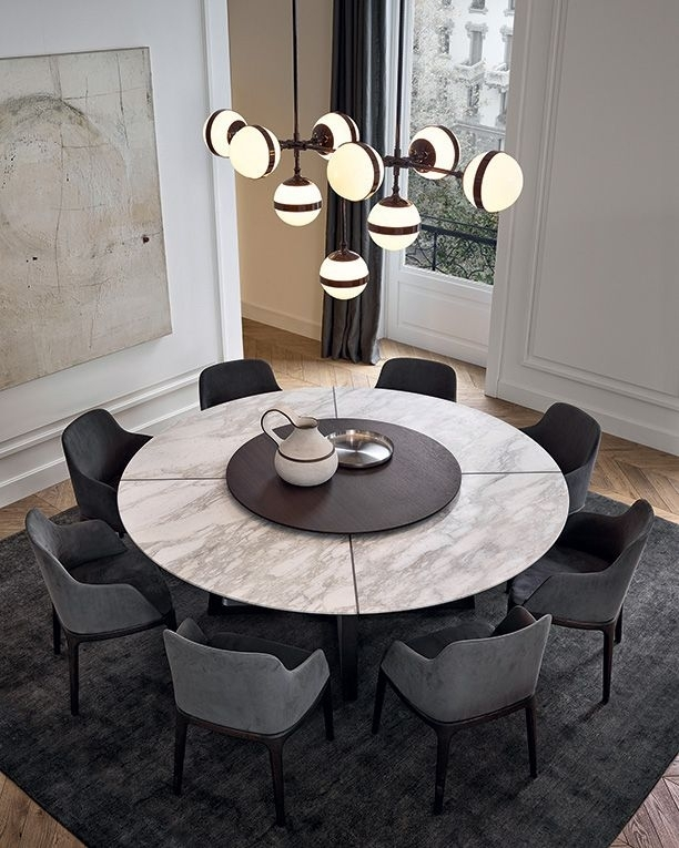 5 Reasons Why You Want This Dining Room Designnadya Zotova Pertaining To Lassen 5 Piece Round Dining Sets (Image 5 of 25)