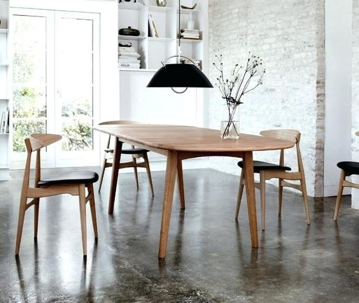 5. Scandinavian Dining Chair Danish Dining Room Chairs Cool Dining intended for Scandinavian Dining Tables and Chairs