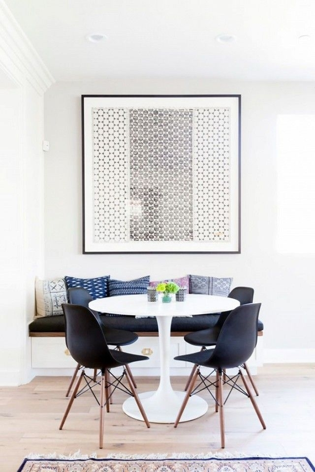 5 Times Ikea Looked Deceptively Elegant | Home Inspiration throughout Lassen 5 Piece Round Dining Sets