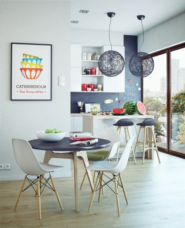 50 Inspiring Scandinavian Dining Room Design And Furniture Ideas Regarding Danish Style Dining Tables (Image 6 of 25)