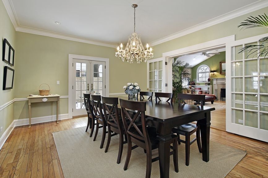 500 Dining Room Decor Ideas For 2018 (All Styles, Colors And Sizes Throughout Dark Wood Dining Room Furniture (Image 2 of 25)
