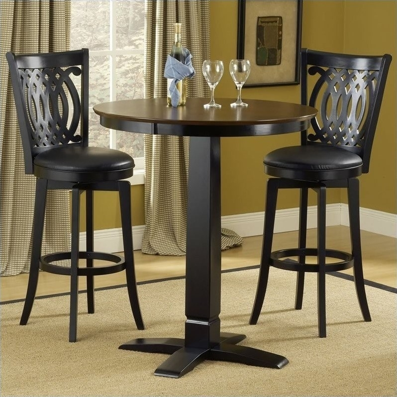 51 High Pub Table Sets, Small High Top Round Kitchen Table With With Regard To Cora 5 Piece Dining Sets (Image 1 of 25)