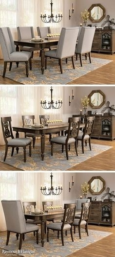 54 Best Dining Room Ideas Images On Pinterest In 2018 | Dining Room Inside Wyatt 7 Piece Dining Sets With Celler Teal Chairs (Image 7 of 25)