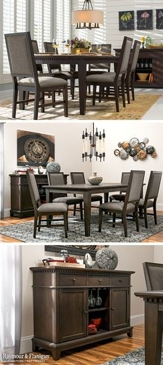 54 Best Dining Room Ideas Images On Pinterest In 2018 | Dining Room With Regard To Wyatt 6 Piece Dining Sets With Celler Teal Chairs (Photo 16 of 25)