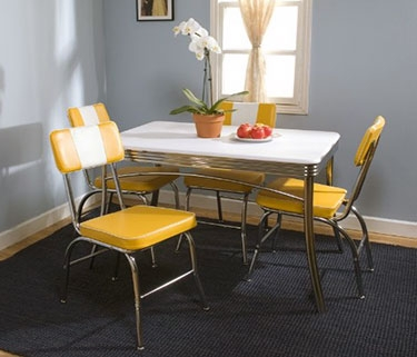 54 Of The Best Retro Kitchen & Dining Tables Ever! intended for Retro Dining Tables