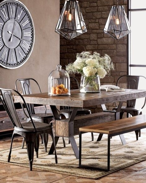 55 Best Home Images On Pinterest | Furniture, Bentwood Chairs And Intended For Palazzo 7 Piece Dining Sets With Pearson White Side Chairs (Image 7 of 25)