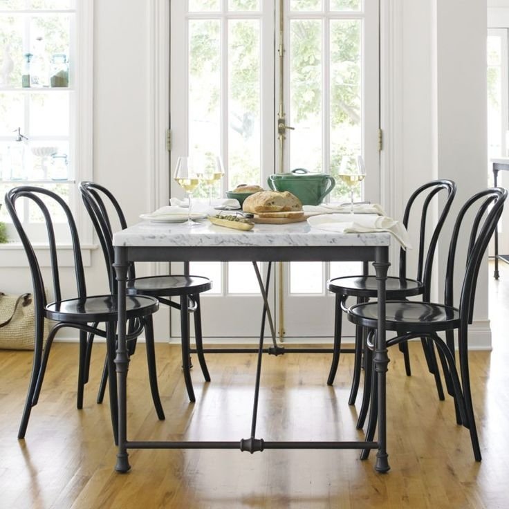 55 Best Home Images On Pinterest | Furniture, Bentwood Chairs And Throughout Palazzo 9 Piece Dining Sets With Pearson White Side Chairs (Image 11 of 25)