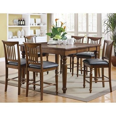 $599 / Sam's Club – Burkhart Counter Height Dining Set – 7 Pc (View 23 of 25)