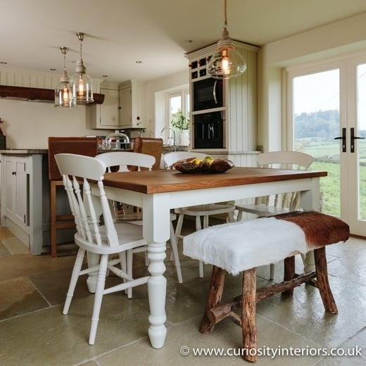 5Ft X 3Ft Dining Table | Plank Dining Tables | Curiosity Interiors throughout 3Ft Dining Tables