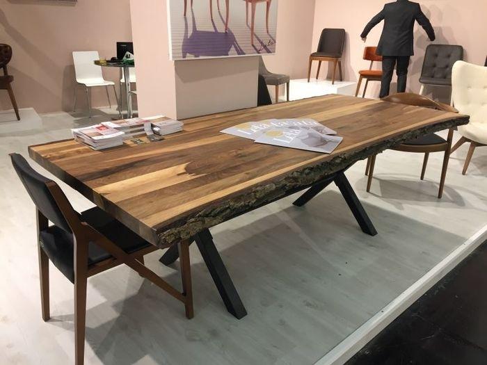 6. Brilliant Ideas Black Wood Dining Room Table Tree Finish Dining Table pertaining to Tree Dining Tables