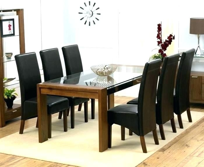 6 Chair Dining Set – Dersler (Image 2 of 25)
