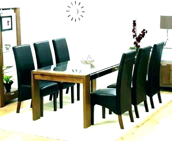 6 Chair Dining Set – Payoneer (View 7 of 25)