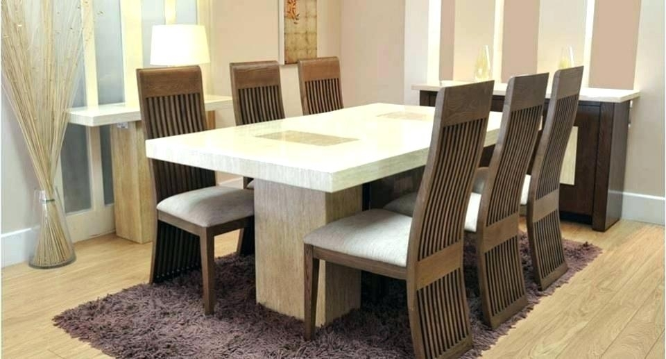 6 Chair Dining Table Extendable 6 Chair Dining Table Price In India For 6 Chairs And Dining Tables (Photo 20 of 25)