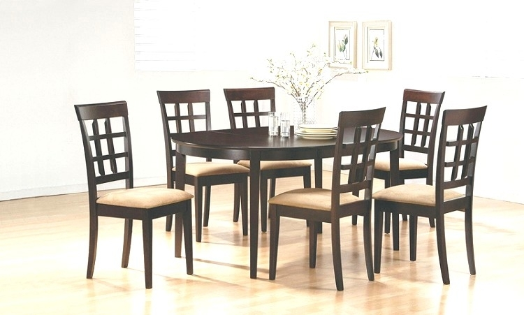 6 Chair Dining Table Fresh Delightful Design 6 Chair Dining Table With 6 Seater Round Dining Tables (Photo 20 of 25)