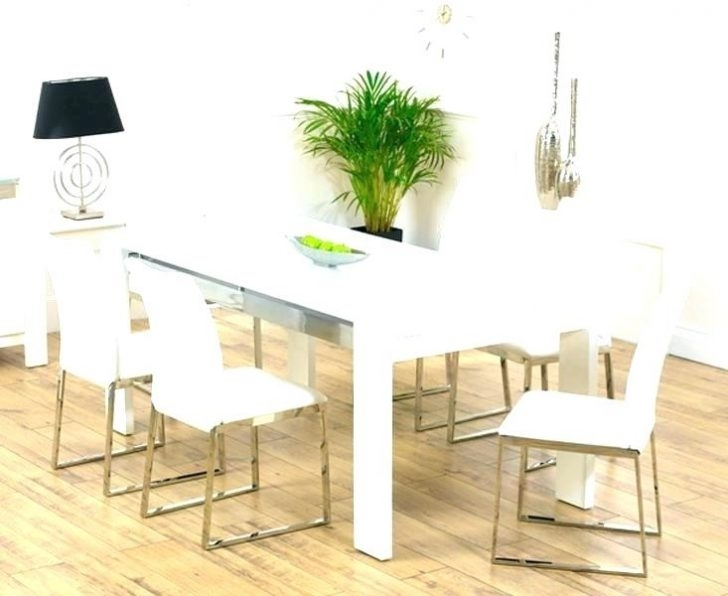 6 Chair Dining Table Set Beautiful Decorative Under Ideas Chairs Throughout White Dining Tables With 6 Chairs (View 17 of 25)