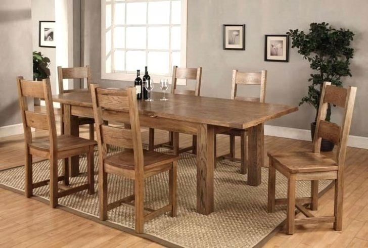6 Chair Dining Table Set Glass For Round And Chairs Top Furniture with regard to Extendable Dining Tables With 6 Chairs