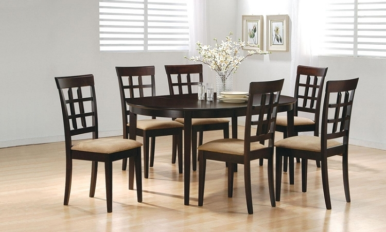 6 Chair Dining Table - Theradmommy pertaining to 6 Chairs Dining Tables