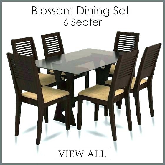 6 Chairs Dining Table 6 Table And Chairs 6 Chair Dining Set 6 Dining In Dining Tables And Six Chairs (Image 1 of 25)