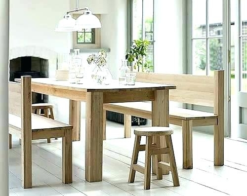 6. Dining Table Bench With Back Dining Room Benches With Backs intended for Bench With Back For Dining Tables