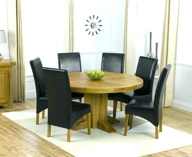 6 Person Dining Table Glass Square Dining Table For 8 Kitchen Dining With Round 6 Person Dining Tables (Photo 15 of 25)