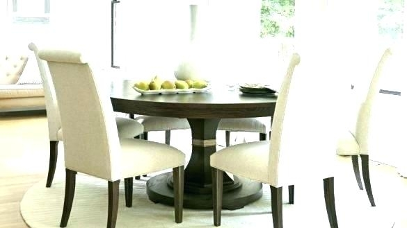 6 Person Round Glass Dining Table Round Dining Tables For 6 6 Dining For 6 Person Round Dining Tables (Image 5 of 25)