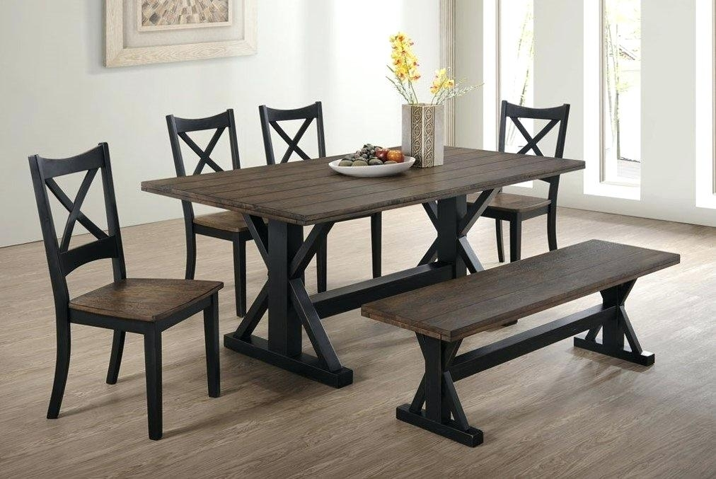 6 Piece Dining Room Set Sets Bravo Counter Height Corner Seating 2 pertaining to Mallard 6 Piece Extension Dining Sets