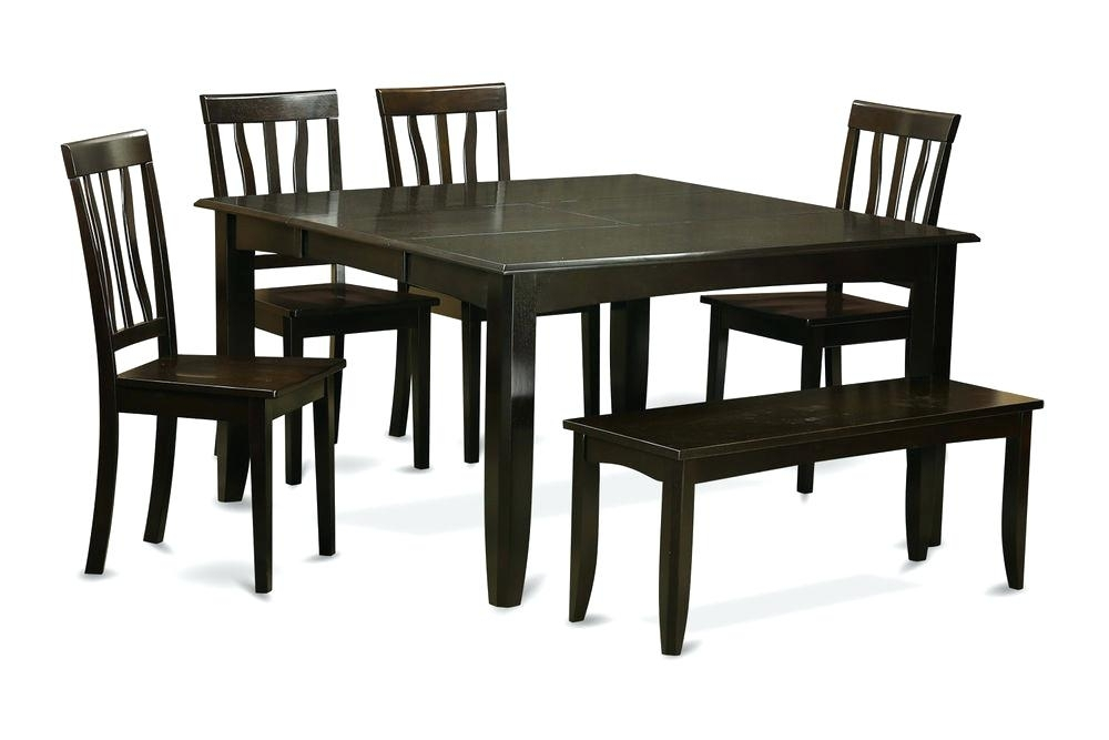 6 Piece Dining Table 4 Piece Dining Room Set 6 Piece Dining Room Set For Partridge 6 Piece Dining Sets (Image 4 of 25)