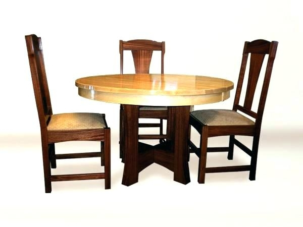 6 Piece Kitchen Table Round Dining Set For 6 Round Dining Set For 6 Inside Mallard 6 Piece Extension Dining Sets (Photo 15 of 25)