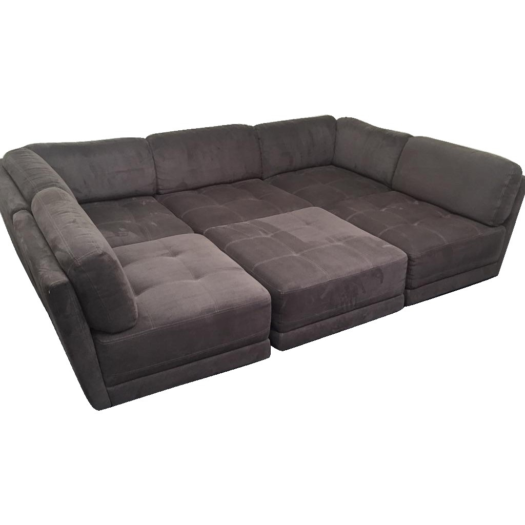 6 Piece Modular Sectional Costco - Implantologiabogota.co with Norfolk Chocolate 6 Piece Sectionals