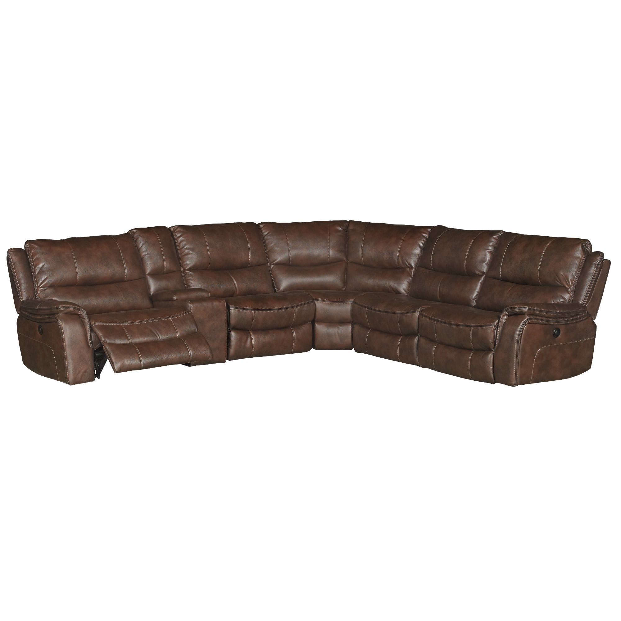 6 Piece Reclining Sectional Sofa | Baci Living Room Within Denali Charcoal Grey 6 Piece Reclining Sectionals With 2 Power Headrests (Image 4 of 25)