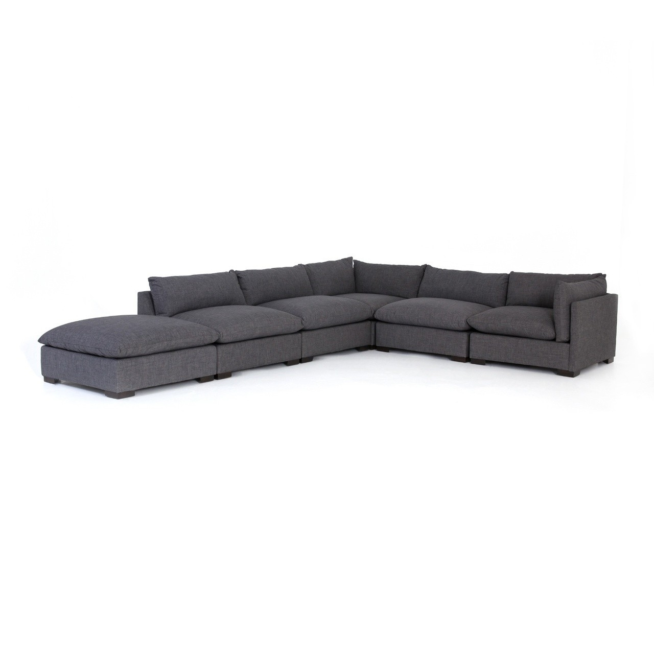 6 Piece Sectional Couch Marcus Grey W Power Headrest Usb Living Within Marcus Grey 6 Piece Sectionals With Power Headrest & Usb (View 9 of 25)