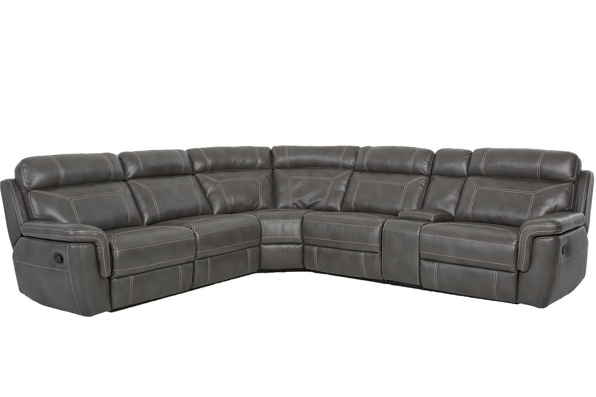 6 Piece Sectional Sofa - Ujecdent for Norfolk Grey 6 Piece Sectionals