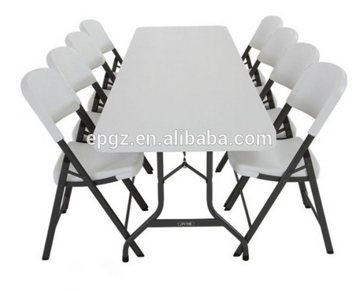 6 Seater Cheap Sale Modern School Pe Plastic Dining Table And Chair With Cheap 6 Seater Dining Tables And Chairs (Image 1 of 25)