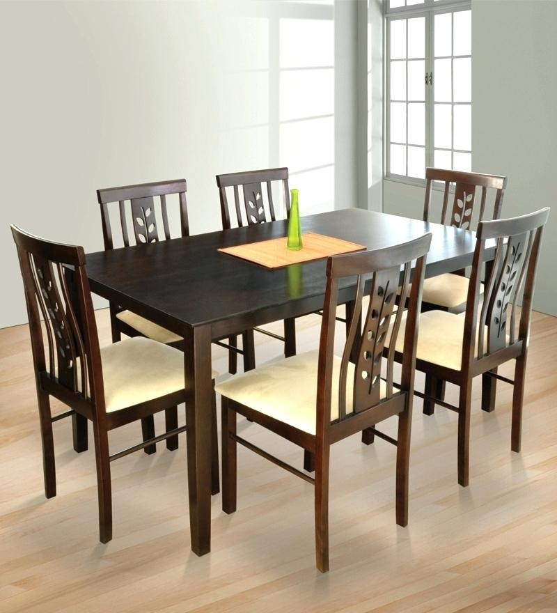6 Seater Dining Room Sets 6 Dining Set Model 6 Seater Dining Room Within 6 Seat Dining Tables And Chairs (Image 2 of 25)
