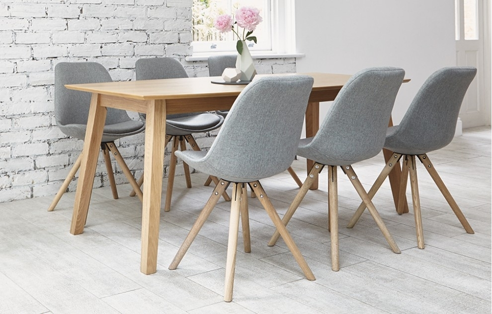 6 Seater Dining Sets – Grey – Home Furniture – Out & Out Original Within Cheap 6 Seater Dining Tables And Chairs (Photo 14 of 25)