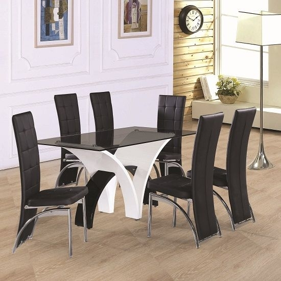 6 Seater Dining Table And Chairs (10 Photos) - All About Table throughout 6 Seat Dining Tables