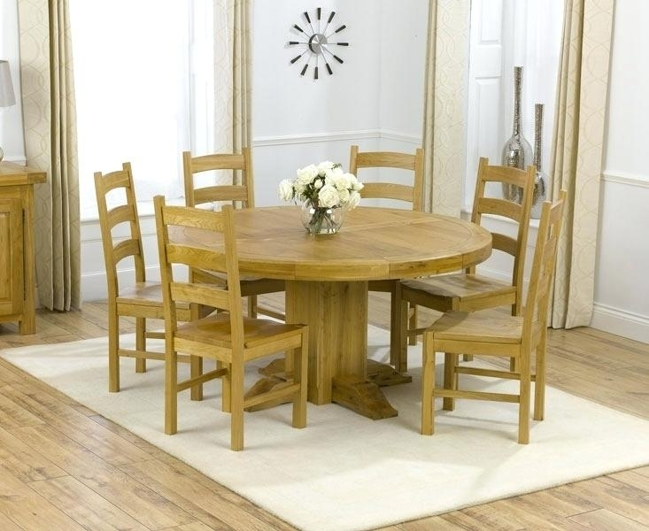 6 Seater Dining Table Dimensions 6 Dining Table Dimensions Excellent Intended For 6 Person Round Dining Tables (Image 6 of 25)