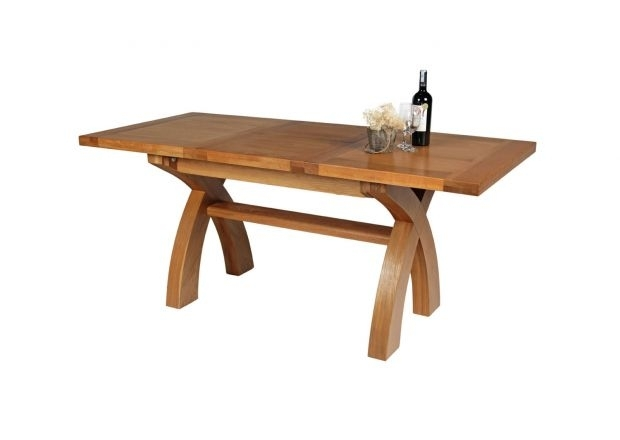 6 Seater Oak Dining Tables | Top Furniture With Oak 6 Seater Dining Tables (Image 6 of 25)
