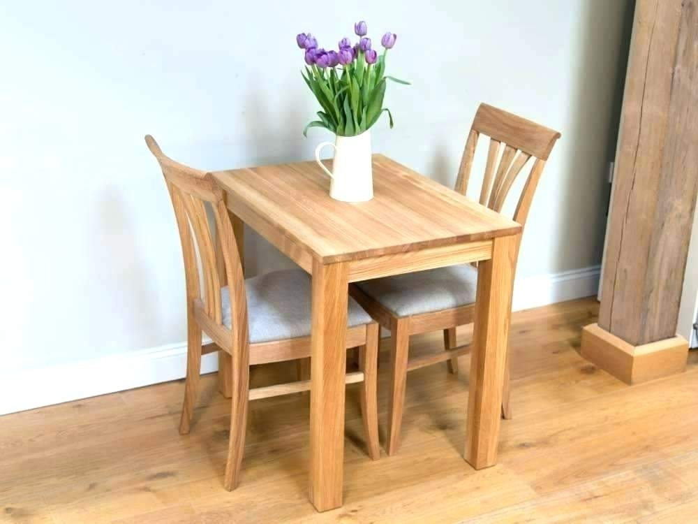 6 Seater Table And Chairs 8 Sizes 10 Cloth Dining Tables Two Small Intended For Two Chair Dining Tables (Image 2 of 25)