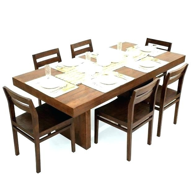 6 Seater Table – Vancouverist for Cheap 6 Seater Dining Tables And Chairs