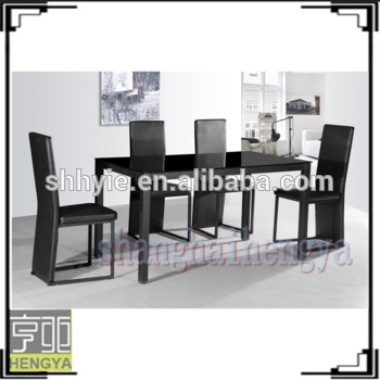 6 Seaters Black Glass Dining Tables And Chairs – Buy Glass Dining Pertaining To Black Glass Dining Tables With 6 Chairs (Image 4 of 25)