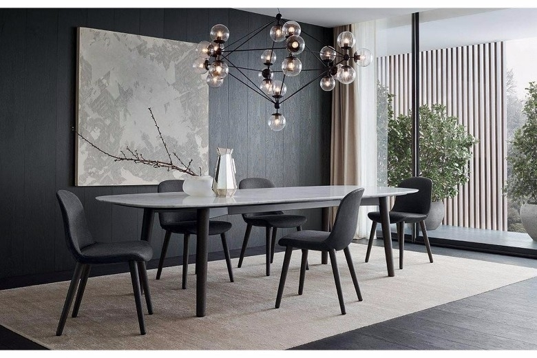60 Modern Dining Room Design Ideas Within Modern Dining Room Furniture (View 17 of 25)