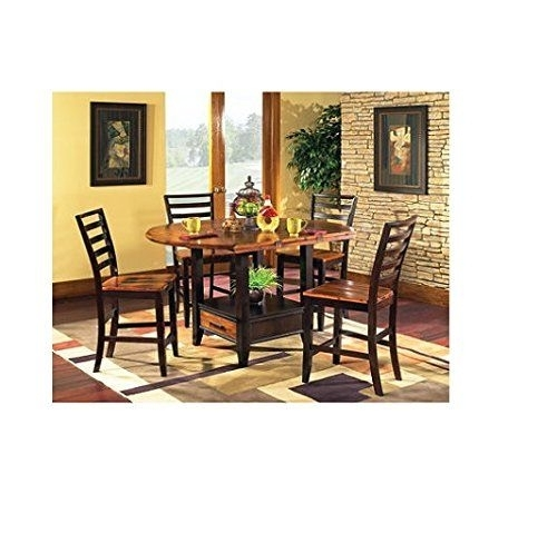 653 Best Best Dining Room Sets Reviews Images On Pinterest | Table with Combs 5 Piece 48 Inch Extension Dining Sets With Pearson White Chairs