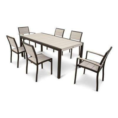 7 Best Patio Images On Pinterest With Regard To Lassen 7 Piece Extension Rectangle Dining Sets (View 6 of 25)